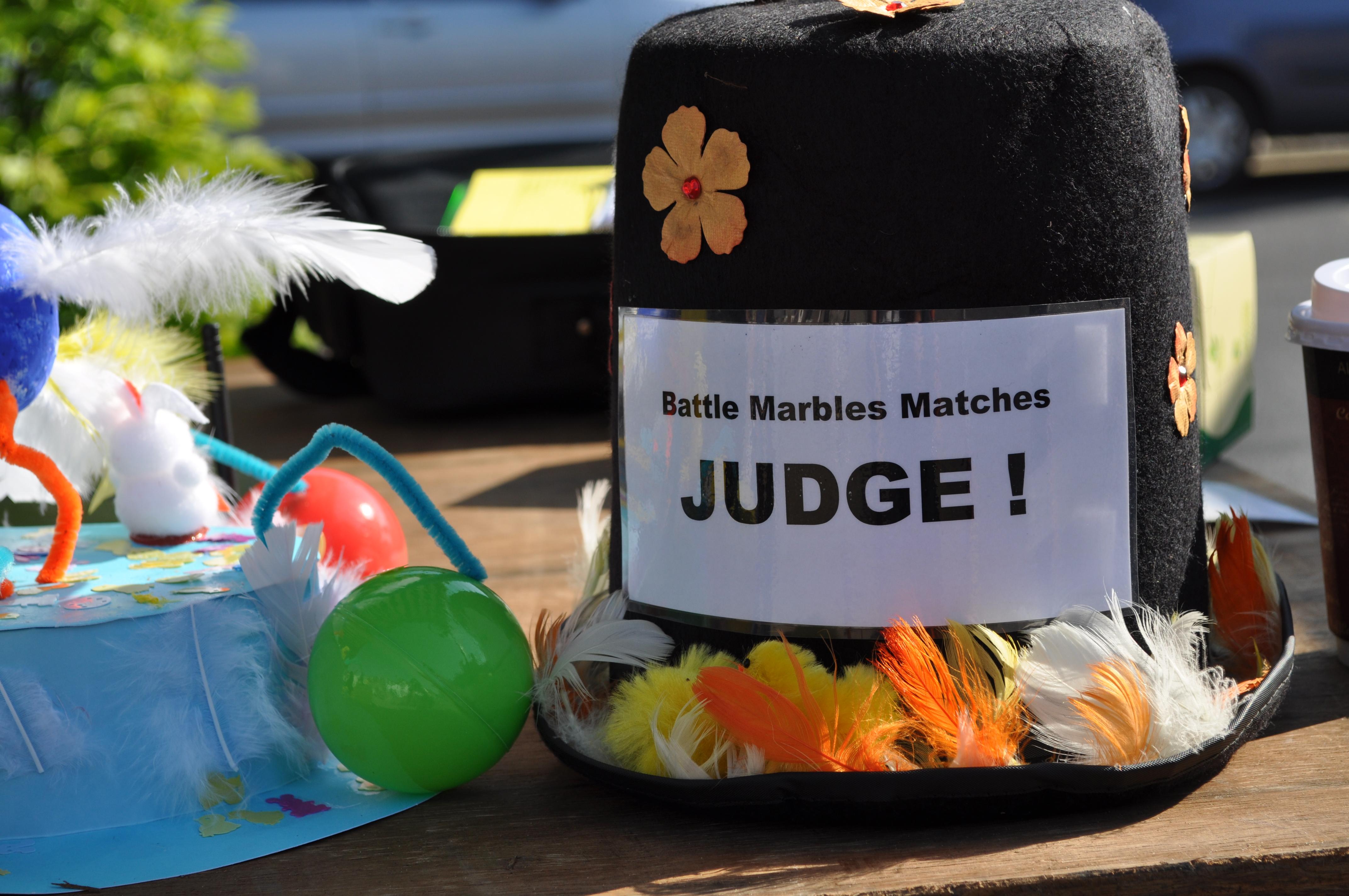 Judge's Hat at Battle Marbles