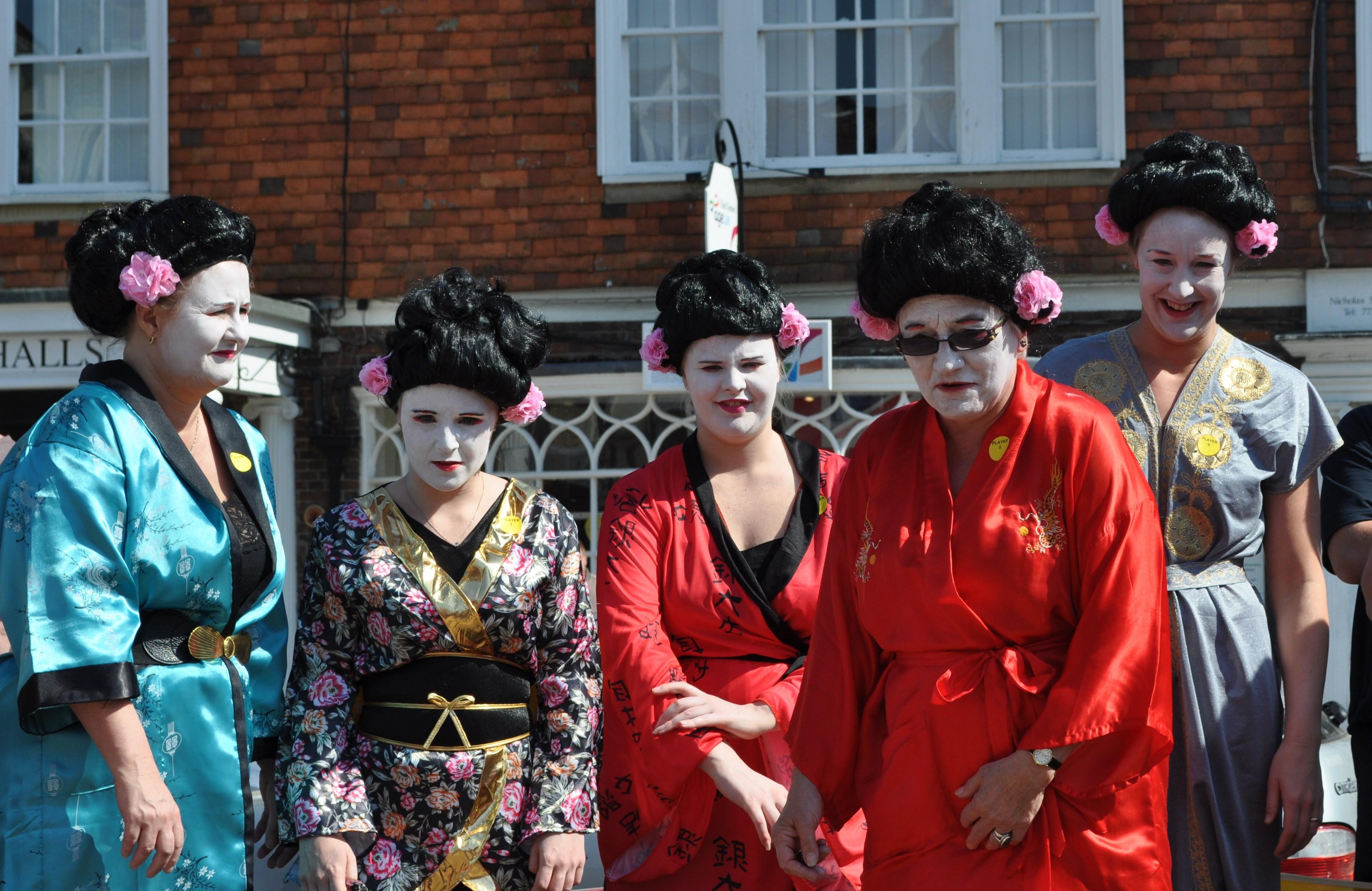 Geisha Girls at Battle Marbles