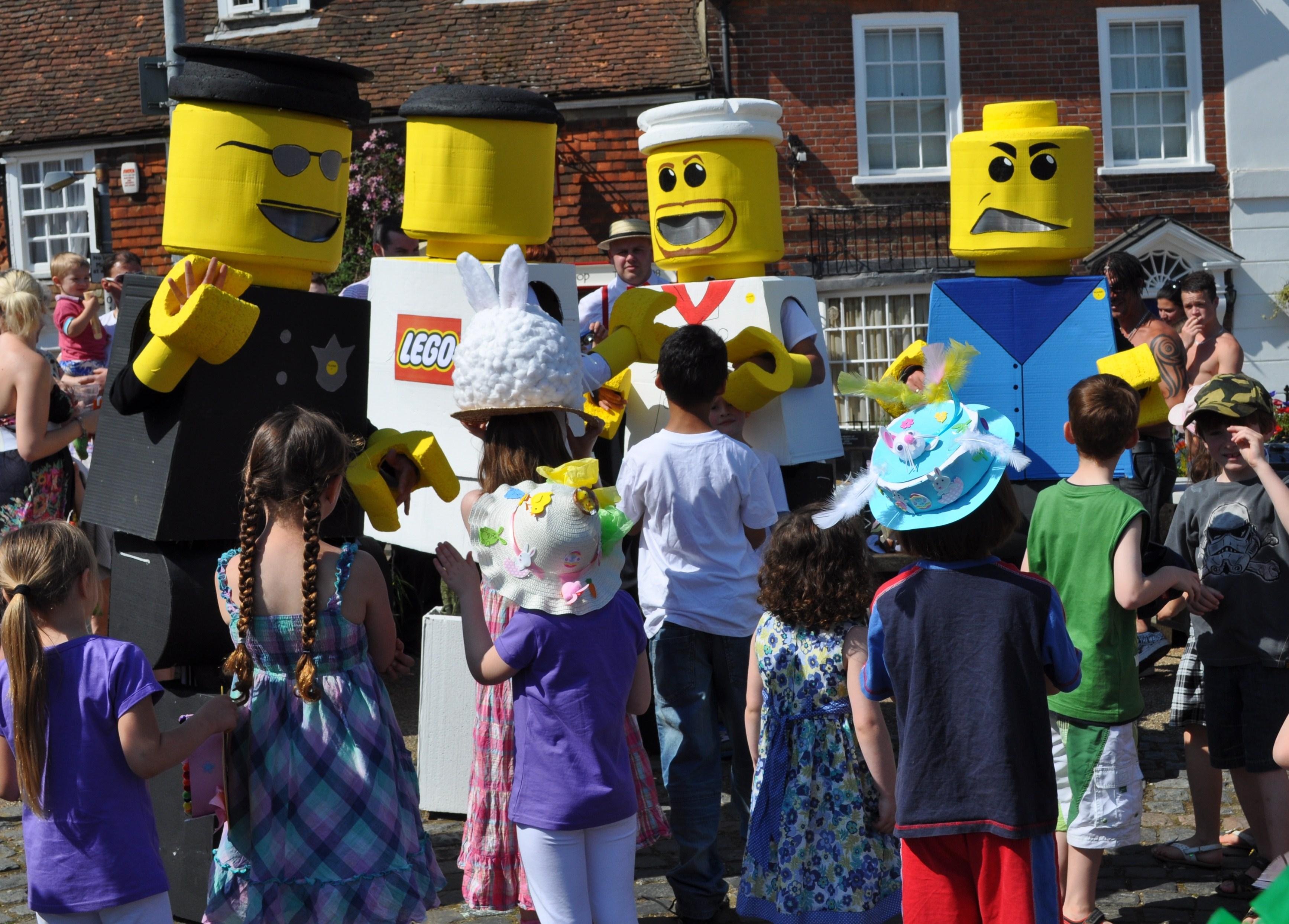 Lego Men Fancy Dress