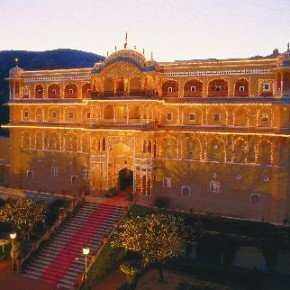 Samode Palace, Jaipur at Night