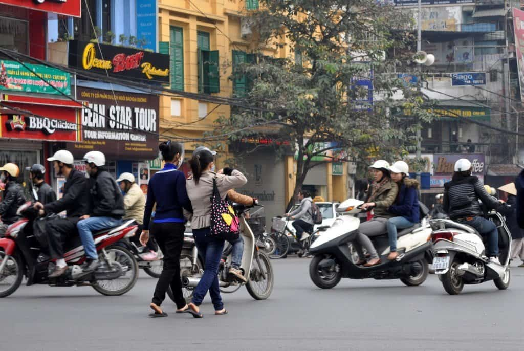 Crossing the Street HCMC