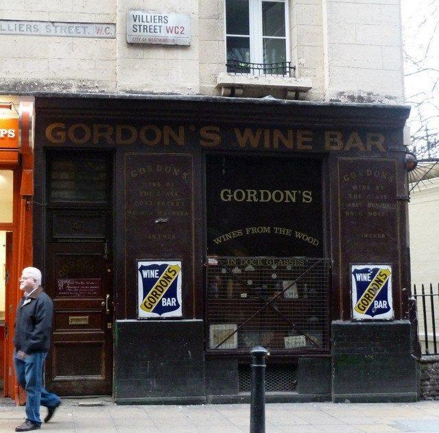 Gordon's – the Oldest Wine Bar in London