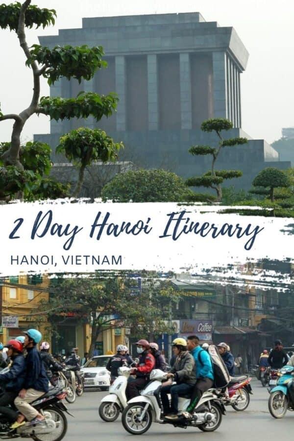 2-day Hanoi Itinerary