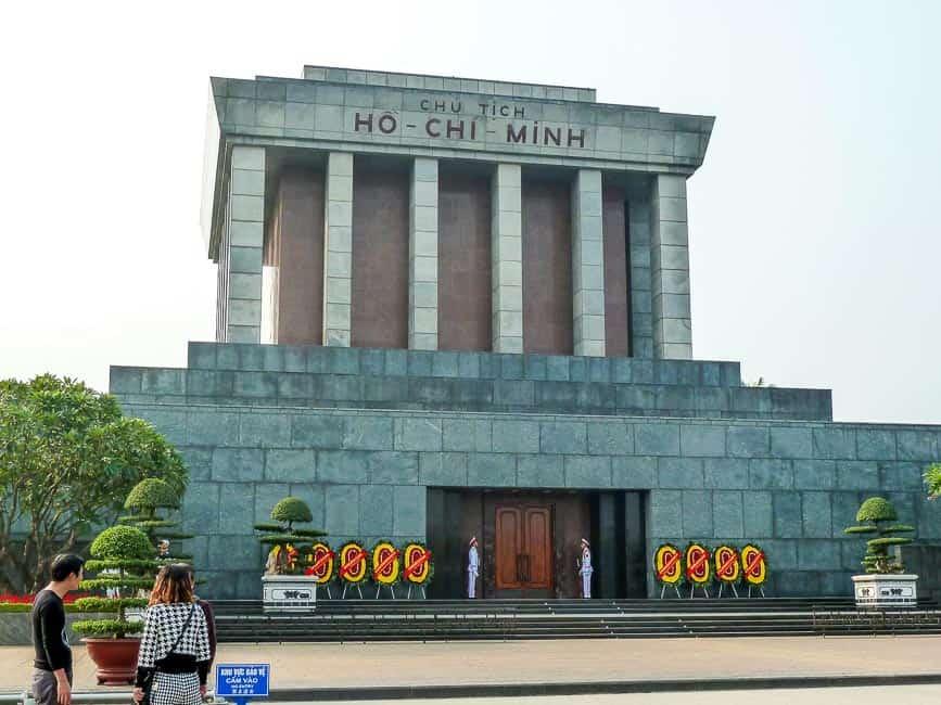 Ho Chi Minh Mausoleum, Hanoi Itinerary