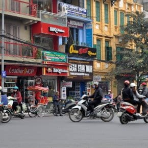 2 days in Hanoi - scooters in Hanoi