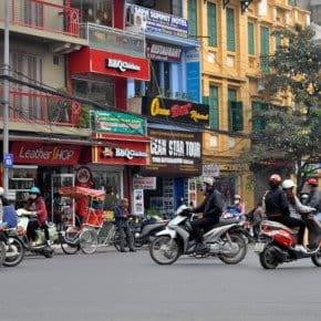 2 days in Hanoi - scooters in Hanoi