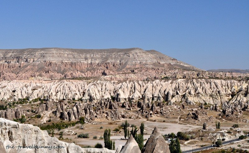 View to Rose Valley from Goreme