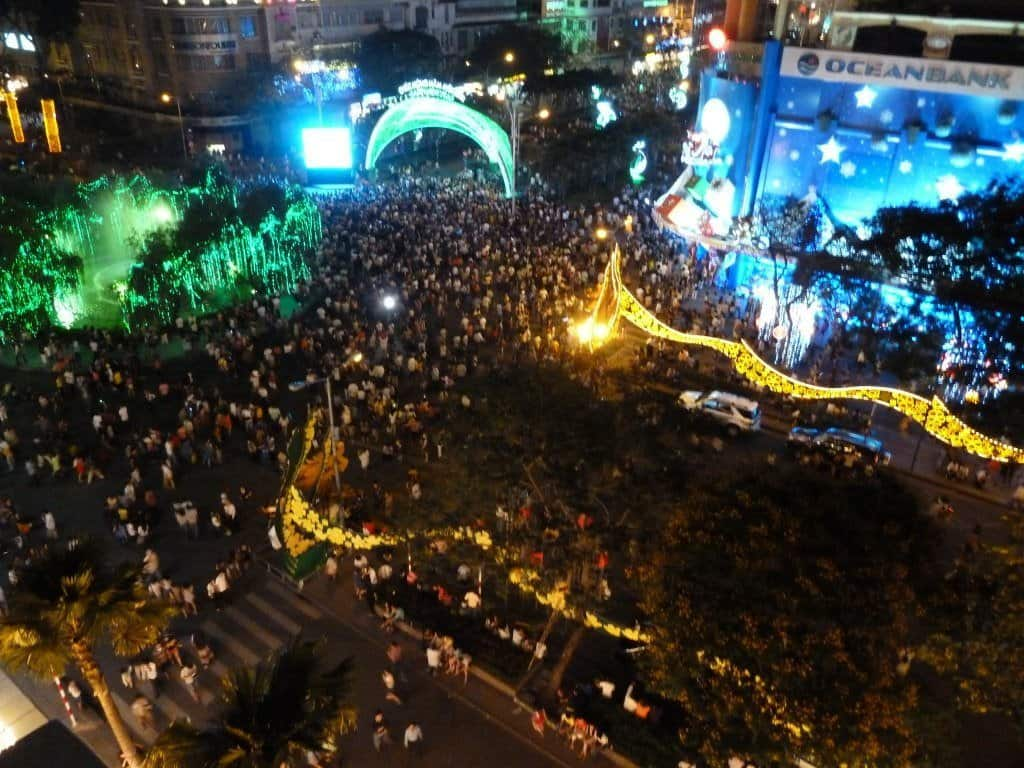 New Year in Ho Chi Minh City