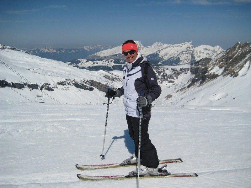 Skiing in Avoriaz