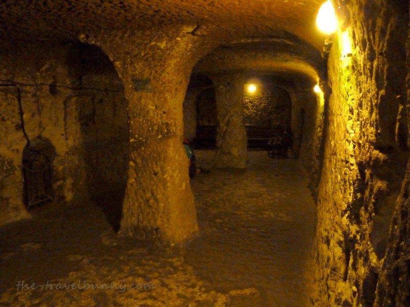 Deep Inside Derinkuyu - Underground City  The Travelbunny