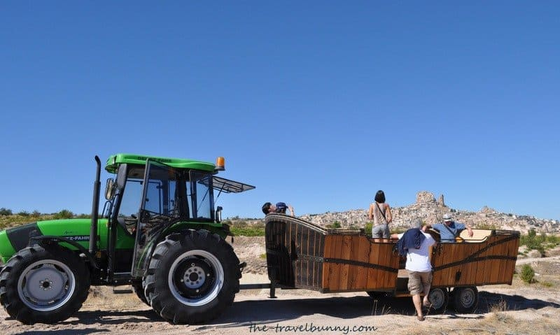 Tractor pulled Ark