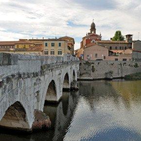 Ponti di Tiberio, Rimini