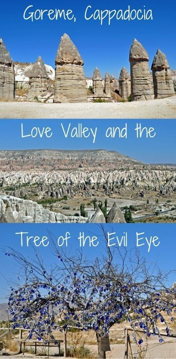 A hike through Love Valley, Goreme, Cappadocia