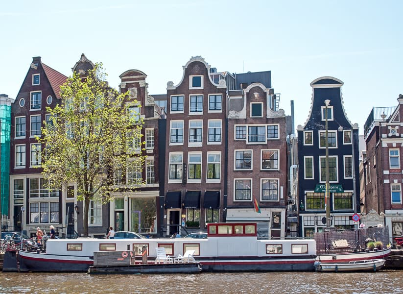 Outstanding The Leaning Houses Of Amsterdam Download Free Architecture Designs Rallybritishbridgeorg