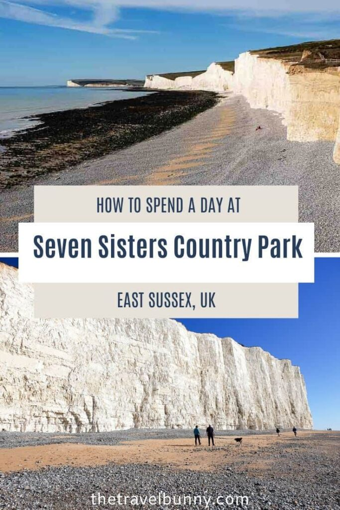 Seven Sisters Country Park cliffs and beach