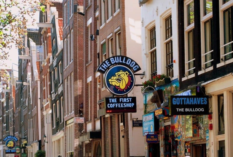 Amsterdam's First Coffee Shop