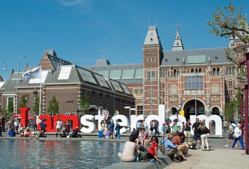 I Amsterdam Sign Rijksmuseum