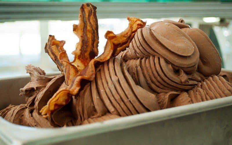 Chocolate Bacon Gelato