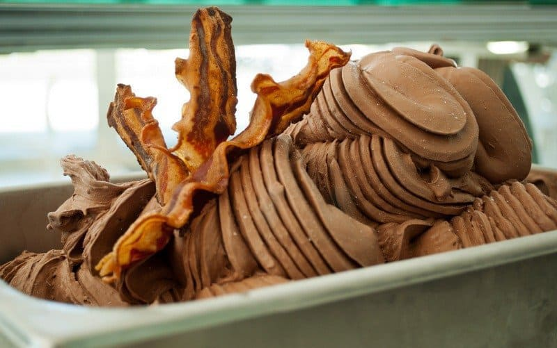 Chocolate Bacon Gelato