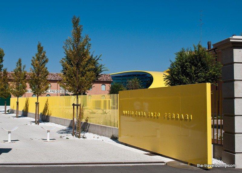 Modena's Museo Casa Enzo Ferrari