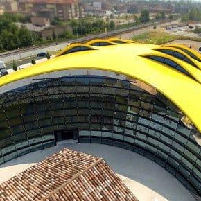 Museo Casa Enzo Ferrari Aerial