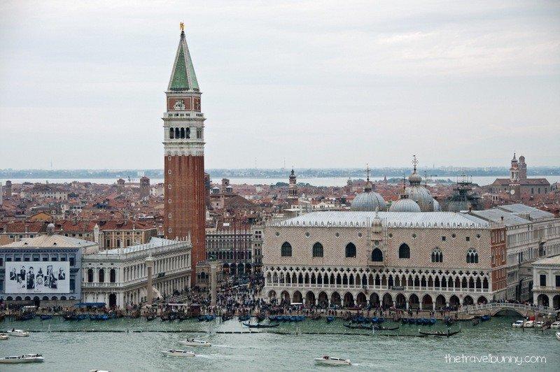 View of Venice from Basiliica of San Giorgio Maggiore
