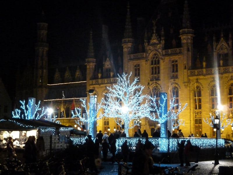 Bruges Christmas Market.Christmas In Bruges The Travelbunny