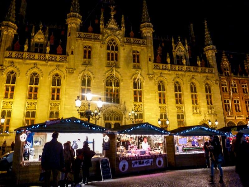 Christmas markets Bruges