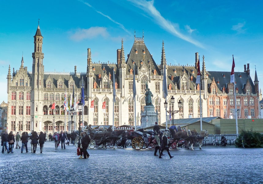Bruges Christmas Market Breaks.Christmas In Bruges The Travelbunny
