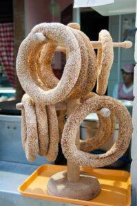 Sesame Rings