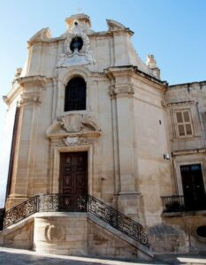 The Church of Our Lady of Victories, Valletta