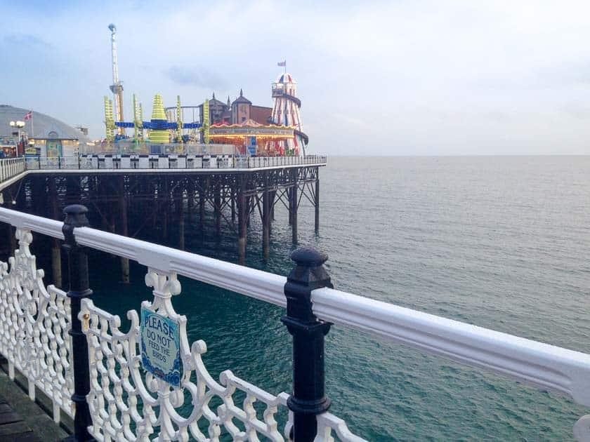 Funfair on Palace Pier, Brighton