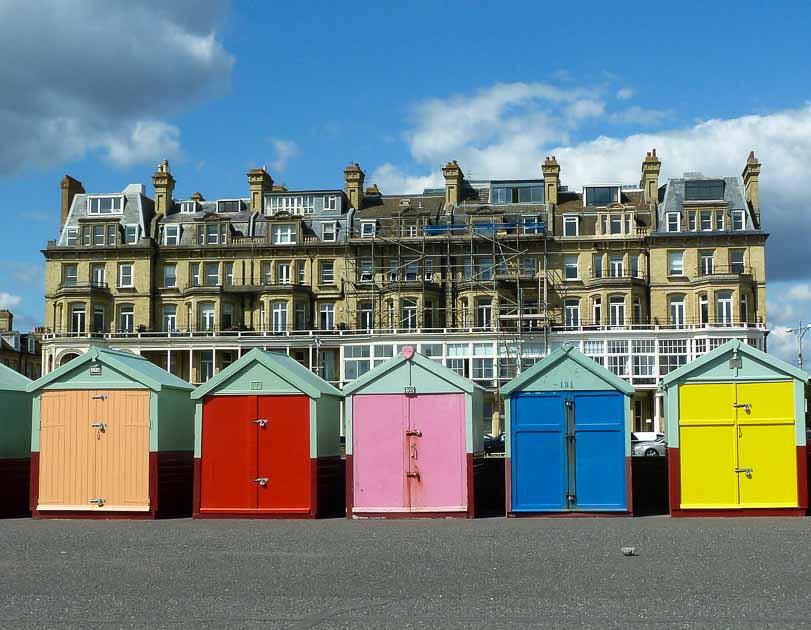 Brighton and Hove Beach huts