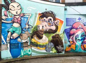 Street Art, Brighton, East Sussex