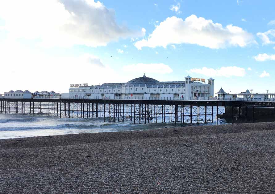 Brighton day trip - Palace Pier, Brighton, East Sussex