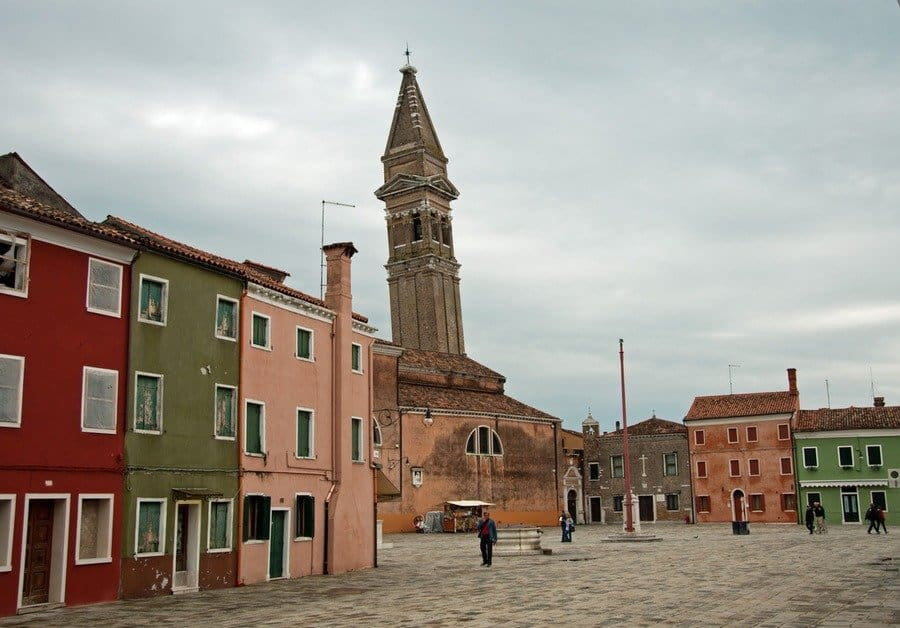 Church of San Martino, Burano, Italy
