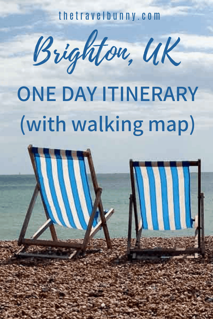 Brighton in East Sussex is vibrant, hip and the most happening of British seaside cities. Read on for a local's guide on how to have the best day trip to Brighton. With free walking tour map #Brighton #daytrip #seaside