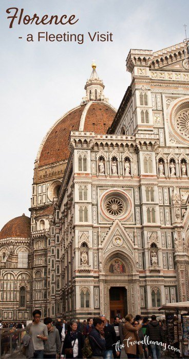 A few hours in photogenic Florence, Italy - a photo tour
