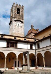 Clocktower at Badia a Passignano