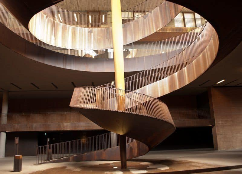 Corkscrew Staircase at Cantina Antinori, Tuscany