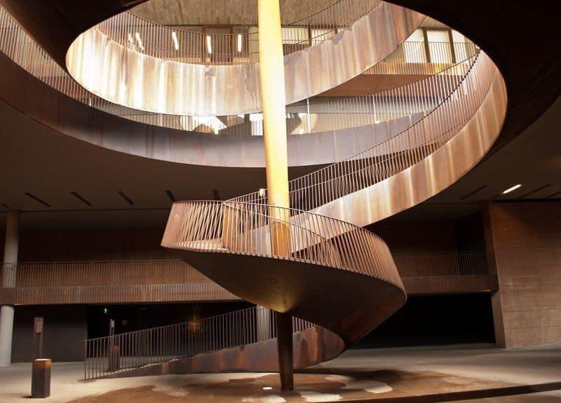 Corkscrew Staircase at Cantina Antinori, Tuscany