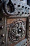 Door Detail at Badia a Passignano