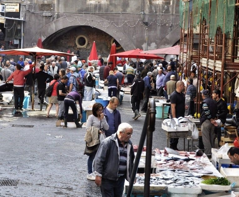 Pescheria Catania Fish Market