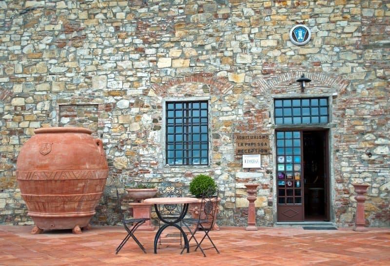Restaurant at Fattoria di Montecchio
