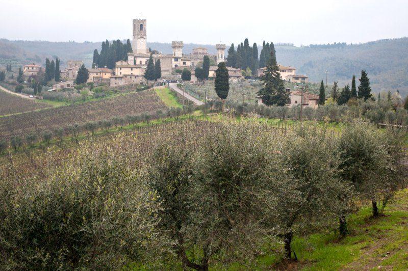 The hamlet of Badia a Passignano