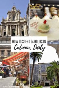 Catania, Sciliy photo montage