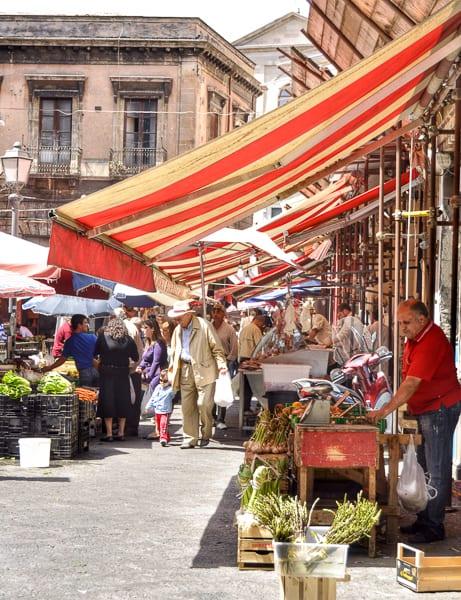 Food Market, Catania, Sicily