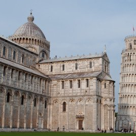 Cathedral and Leaning Tower at Pisa