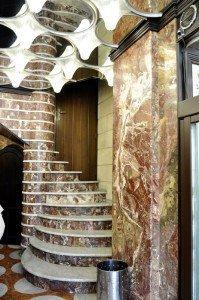 Marble staircase Caffè del Duomo, Catania