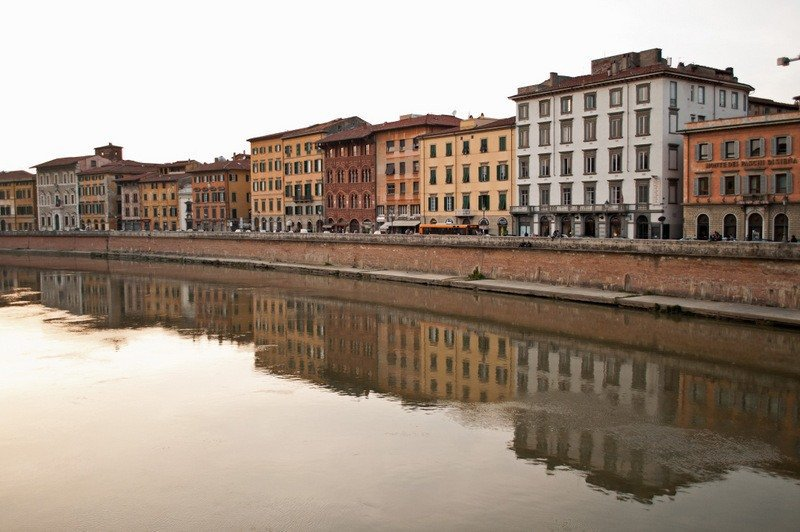 The River Arno, Pisa